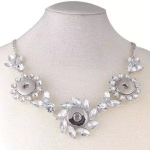 Jewelry - New Fabulous 3 Snap Formal Necklace, Snap Jewelry